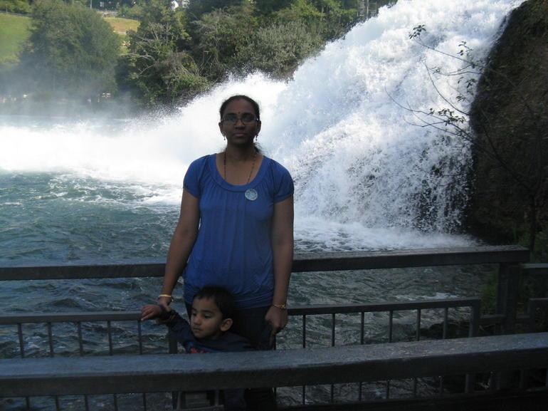 Rhine Water Falls 1 - Zurich