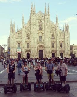 Milan Segway Tour, Shirley D - August 2016