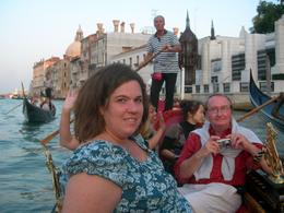 enjoying a gondola ride (with serenade) at sunset... - October 2009