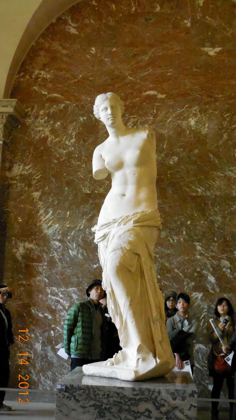 Venus de Milo at the Luvre Museum - Paris