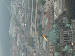 Towards the Brandenburg Gate and Tiergarten. Good views despite the mist!! , Glenn M - December 2014