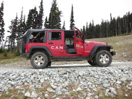 Checking out the Jeep!, Jeff - August 2013