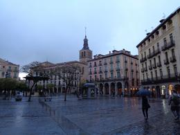 Main square in Segovia , Carlos B M - December 2016