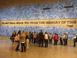 9/11 Memorial Museum wall , Nana - April 2017