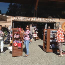 Claire at the Souvenir Store at Stanley Park. , Clara R - September 2017