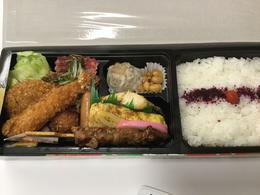 Bento Box for lunch , Rebecca Rice - October 2017