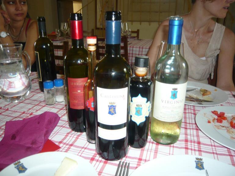 Wine and Vinegar Samples - Florence