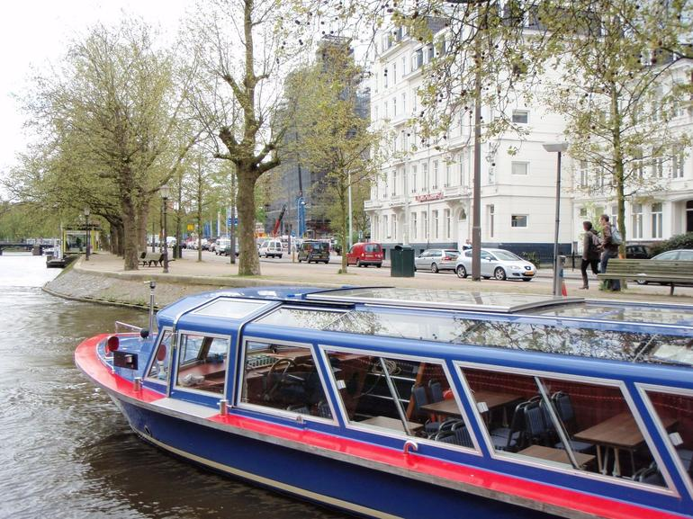 Canal Cruise-Blue Boat Company. - Amsterdam