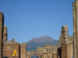 View of Vesuvius from Pompeii , James H - October 2012