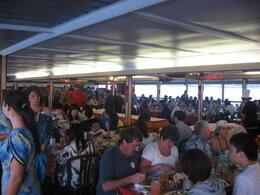 People enjoying the food., Bandit - February 2011