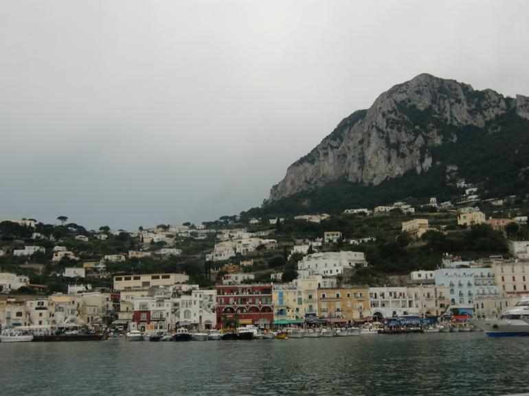 Entering Capri - Naples
