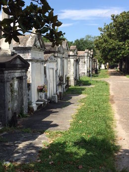 The graveyard was a very interesting part of the tour.. , John F - June 2015