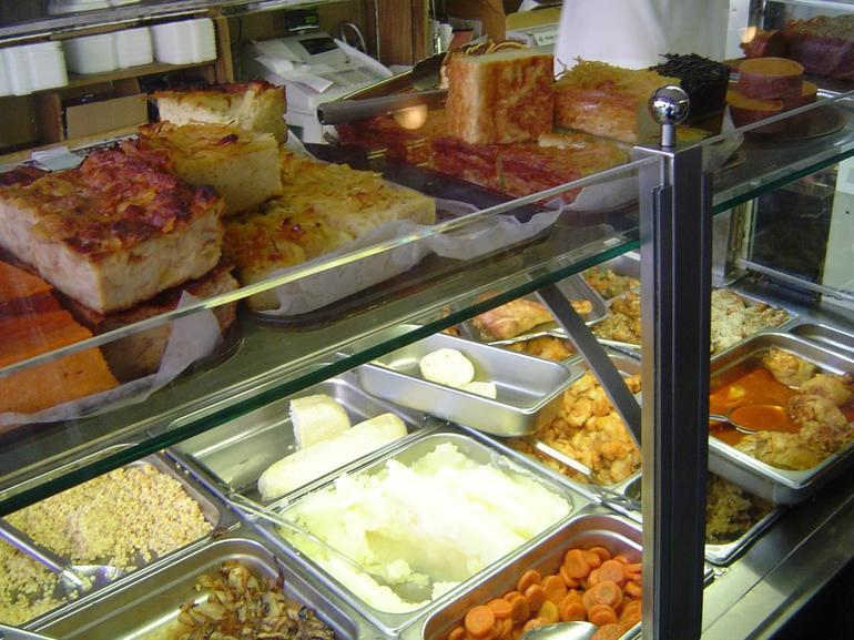Interesting Foods at this old Deli - New York City
