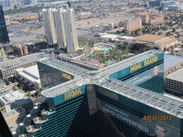 We had a good view of our hotel from the sky. , Gregory W - April 2013