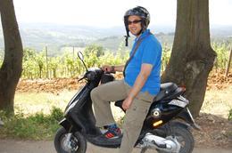 On his bike!, Frances - June 2010