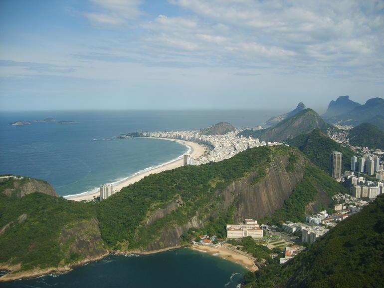 Pao de Azucar- Sugarloaf mountain top view - Rio de Janeiro