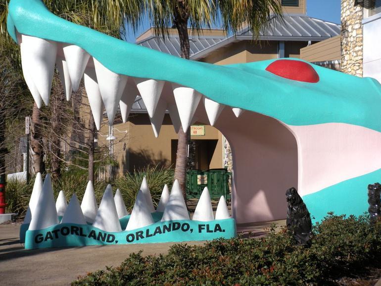 Gatorland park entrance - Orlando