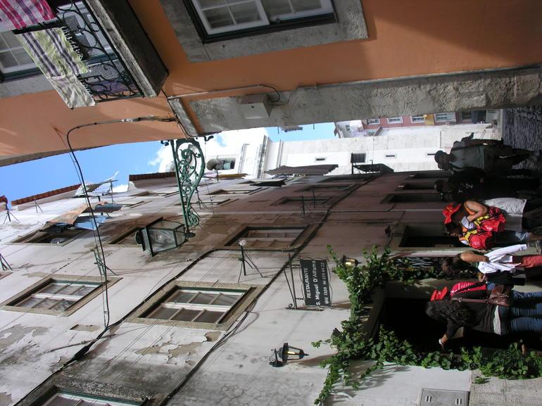 Street in Alfama - Lisbon