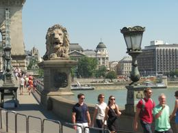 The famous 'Chain Bridge' in Budapest , Roger M - September 2016