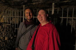 Our Brilliant Guide Dimitri and the very attractive Tour particpant , Lord Sebastian - January 2015