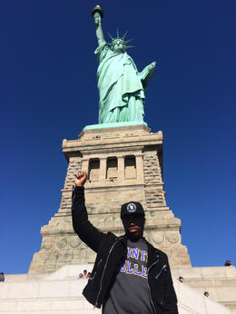 Anniversary celebration! , Lady Liberty agrees: Black Lives Matter. , James G - October 2016