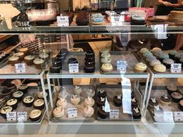 Array of cupcakes available at Cupcake Royale , Heather C - April 2017