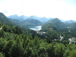 hohenschwangau castle from far , Toan Thang T - August 2017