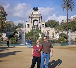 First stop at a park in Barcelona, can't remember what it's called but the fountain was pretty cool - May 2008