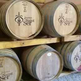 These are barrels of wine outside of the vineyards. , irishgal76 - July 2014