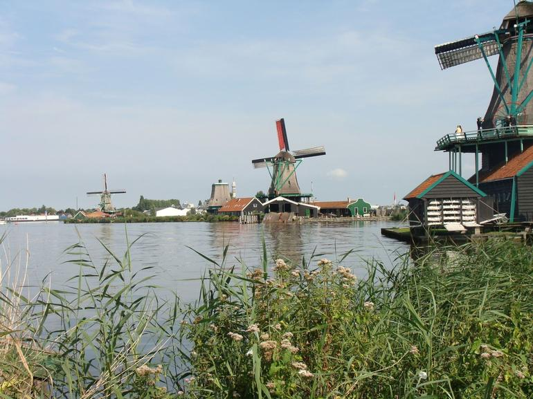 Beautiful Windmills - Amsterdam
