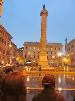 As the light fails and the rain falls this column is still an impressive monument , Elizabeth J - November 2011