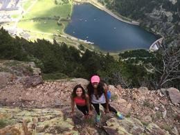 Hiking to the top of the Pyrenees Mountains! , Shelley B - September 2014