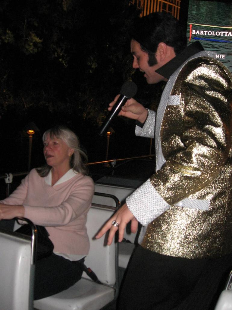 Elvis Serenading Me - Las Vegas