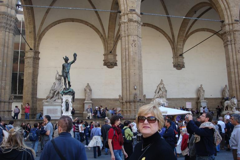 Skip the Line: Florence Accademia and Uffizi Gallery Small Group Tour photo 11