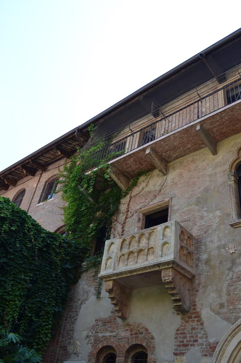 Famous Balcony - Verona