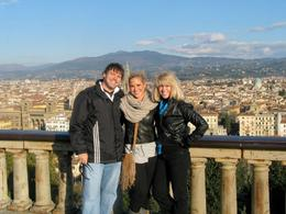 This is the view of Florence from Piazza Michelangelo. , Scotty - January 2012