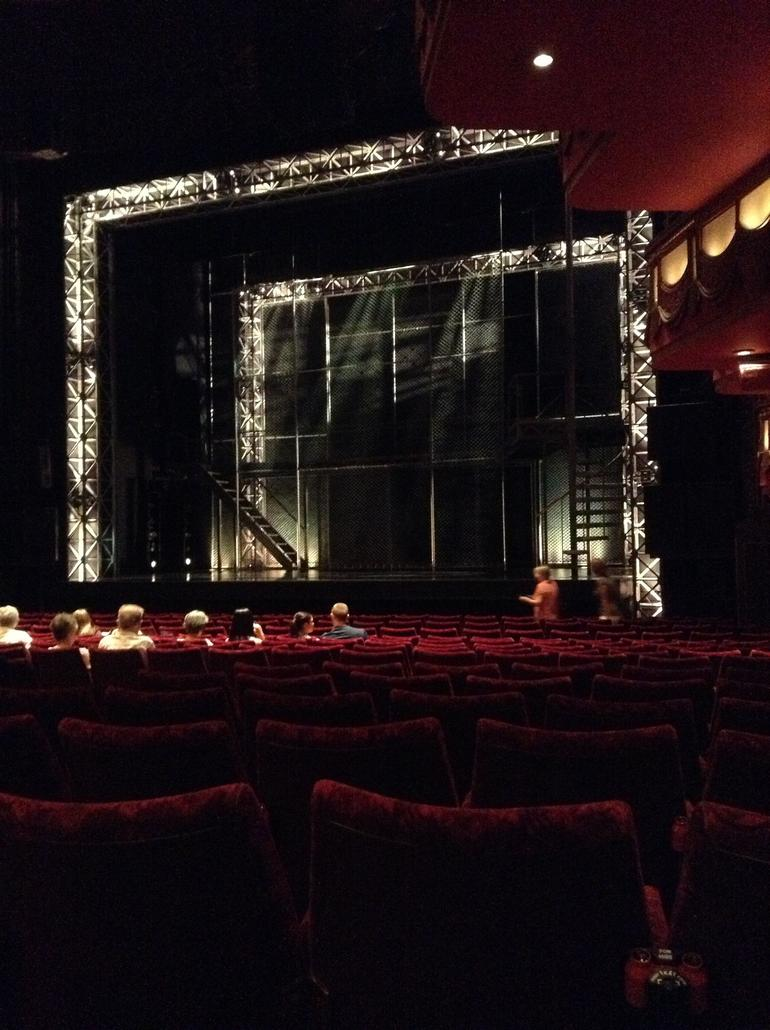 Great seats - uninterupted view of the stage - London