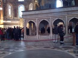 Inside the Hagia Sophia, Katie H - June 2014