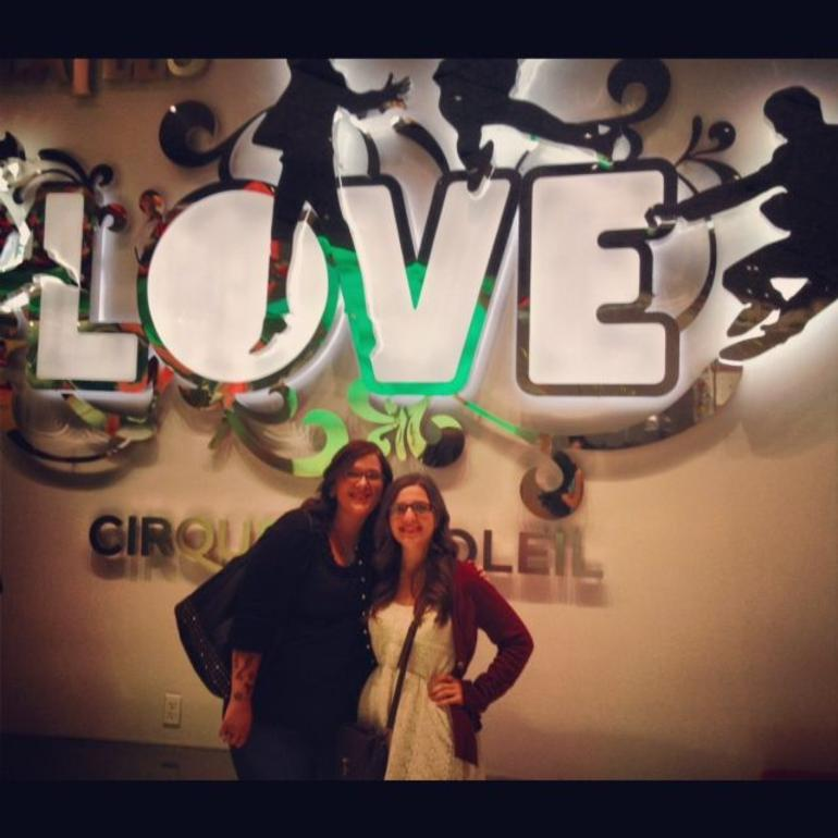 LOVE by Cirque du Soleil - Las Vegas
