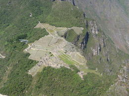 Machu Picchu from Huayna Picchu, Trina Tron - July 2013