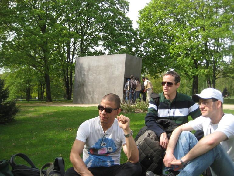 Memorial for the murdered Homosexuals during WW II - Berlin