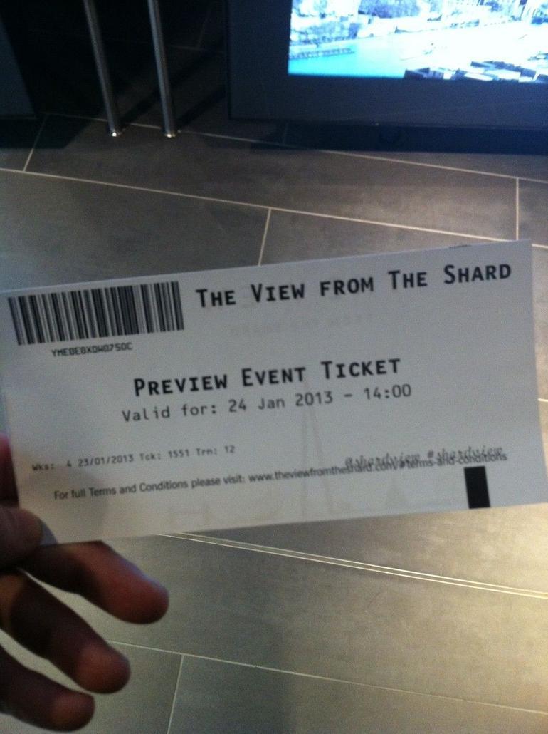 My Ticket - London