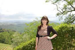 Beautiful backdrop., Frances - June 2010