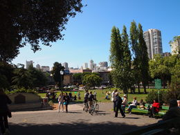 Washington Square Park, North Beach, Rachel - April 2015