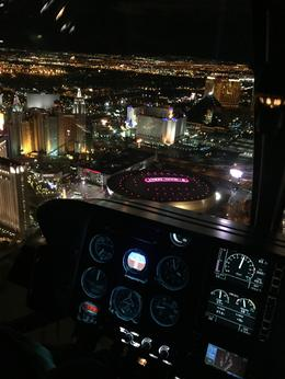 Las Vegas Strip Night Flight by Helicopter with Transport - February 2017