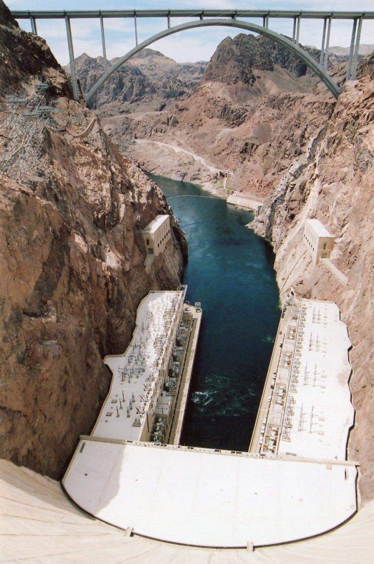 The By Pass Memorial Bridge. - Las Vegas