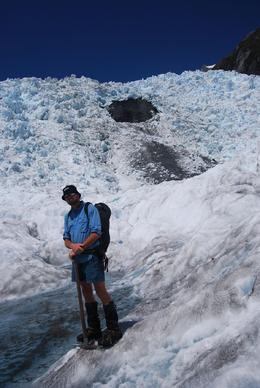The ice guide at Franz Josef Glacier., Sharon E - January 2009