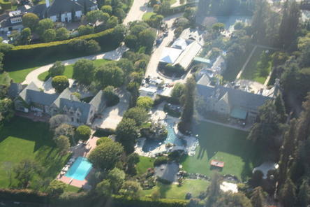 Los angeles shore excursion pre or post cruise celebrity for Celebrity homes tour la