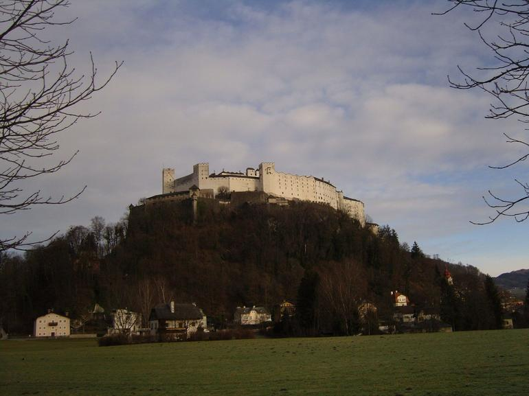 View from the tour bus - Salzburg