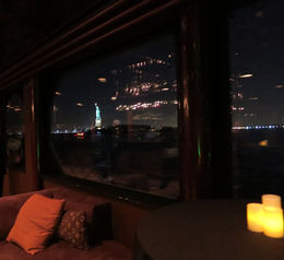 View of Statue Liberty from boat, Patricia P - July 2015